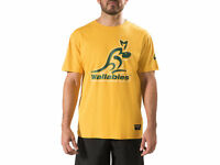 Asics Wallabies 2017 Mens One Team Tee + Free AUS Delivery!