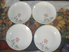 4 Vintage Rosette Comde, Bread and Butter Plate Ballerina by Universal Pottery