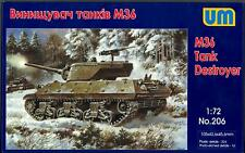 Um-Mt Models 1/72 American M36 Tank Destroyer