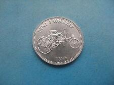 1886 BENZ 3-Wheeler primo primo BENZINA AUTO SHELL COIN TOKEN