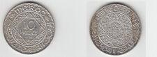 Gertbrolen Maroc 10 Francs  Argent  1347 Exemplaire N° 4     Silver Coin