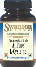 AjiPure L-Cysteine, Pharmaceutical Grade - 500 mg - 30 Capsules - ANTIOXIDANT