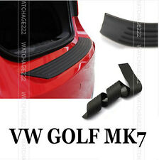 REAR BUMPER BOOT PROTECTOR COVER TRIM FIT FOR VW GOLF MK7 GTI RUBBER DECK HATCH