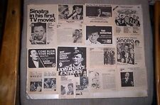 Frank Sinatra 35 TV Guide Ads