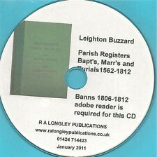 Leighton Buzzard  Parish Records 1562-1812