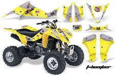 ATV Decal Graphic Kit Wrap For Suzuki LTZ400 Kawasaki KFX400 2003-2008 TBOMBER Y