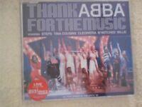 ABBA - THANK ABBA FOR THE MUSIC. CD SINGLE 3 TRACKS