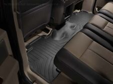 BMW X5, X6  3-layer thermoplastic  REAR  BLACK Floor Liners  82112211585