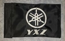 YAMAHA YXZ Safety BLACK safety replacement flag! Fits regular poles and whips