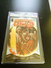 WALKING DEAD #27 CGC 9.2  ROBERT KIRKMAN WHITE PAGES 1ST APP GOVERNOR