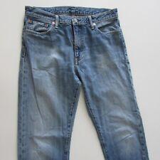 Levi's 504 Jeans Mens Size 33 L34 Straight Blue