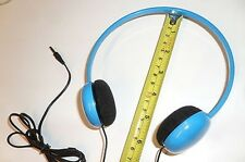 Small Boys Blue Childs/Kids/Toddler Tiny Head Headphones for ALL Tablet PC's