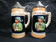 Beer Stein  Salt & Pepper Shakers   --    Beautiful Set