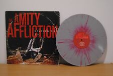 The Amity Affliction Severed Ties LP vinyl grey red splatter /300 parkway drive