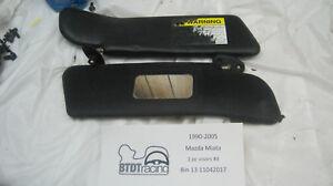 1990-2005 Mazda  Miata 1 piece sunvisors