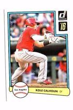 KOLE CALHOUN 2016 PANINI DONRUSS, 1982 diseño, Baseball cartas
