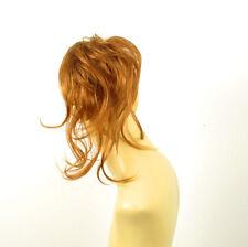 chouchou peruk cheveux blond cuivré ref: 22 27