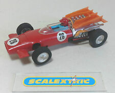 SCALEXTRIC Vintage 1970's MCLAREN M9A Red #26 C43 (SUPERB RUNNER) Made in MEXICO
