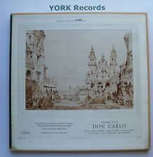 LPS 3234-VERDI-DON CARLOS Riccitelli/Lemeni-EX détenu 4 LP Record Box Set