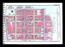 1955 New York City Map Manhattan East Side 1st-3rd Avenue St. Joseph's East End