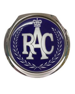 RAC Wreath Classic Car Grille Badge - FREE FIXINGS