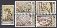 ALBANIA 1969** MNH SC # 1268 - 1272 Greco - Roman Mosaics