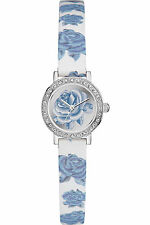 Guess Women's Stella Leather Bracelet With Silver Analog Dial Watch W0886L2