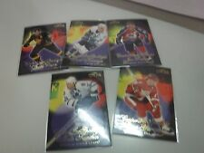 1997 Fleer Center Ice Spotlight Lot Of 5 Bure Yzerman Sakic++jhxb12