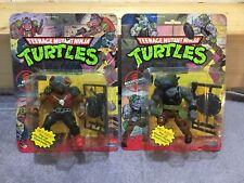 TMNT Rocksteady And Bebop POPUP MOC Sealed Ninja Turtles 1988