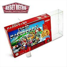 30 x Super Nintendo (SNES) N64 Schutzhüllen 0,3 mm für OVP Hülle Protectors Box