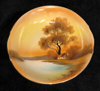 """Noritake* TREE IN THE MEADOW*8 1/2"""" ROUND SERVING BOWL*RED MARK*"""
