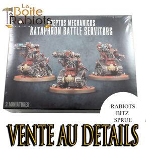 Warhammer 40000 Vente au détails Adeptus mechanicus Kataphron Spare parts