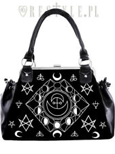 Restyles Symbolic Frame Wicken Goth Emo Punk Rocker Moon Occult Handbag Purse