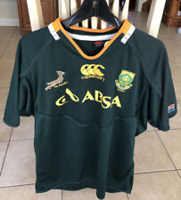 Canterbury South Africa ABSA Rugby Jersey Shirt Green Mens Size Large