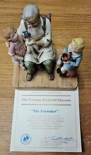 """""""The Toymaker"""" - 1979 Norman Rockwell Figurine - The Norman Rockwell Museum Coa"""