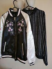 Ladies UK 12 Jackets Black Cream
