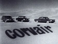 """16mm 1961 CHEVY """"CORVAIRS IN THE DESERT"""" TV AD - 120 SECONDS"""