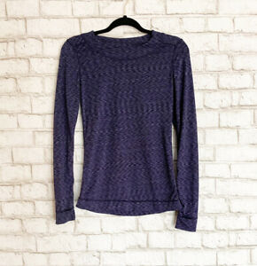 CuddlDuds Flex Fit Activewear Long Sleeve T-Shirt Womens Small