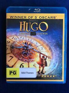 Hugo - Blu Ray - Great Condition - Ben Kingsley - Sacha Baron Cohen - FREE POST
