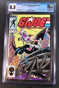 Comic G.I.JOE A Real American Hero ARAH #27, 1984 CGC 8.5VF+