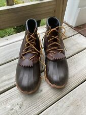 New listing Schnee's Boots Forester Duck Boots Hunting Hiking Brown Leather Men's Size 13