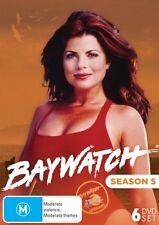 BAYWATCH : SEASON 5 (English cover)   -  DVD - Region 2 UK Compatible - sealed
