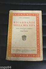 Ricordanze della mia vita - Luigi Settembrini - Prima ed. Rondinella 1935
