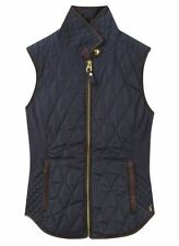 Joules Hip Length Patternless Waistcoats for Women