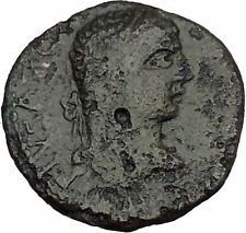 CARACALLA 198AD Stobi Macedonia Nike Victory Authentic Ancient Roman Coin i45260