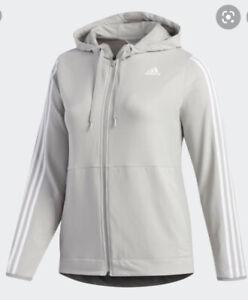 Adidas Oversized Zip Sweatshirt Hoodie Size 4x 32-34 FP7490