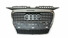 NEW AUDI A3 8P 2004 -2007 FRONT CENTER GRILL RADIATOR CHROME FRAME 8P485365111QP