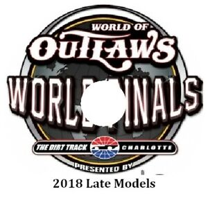 2018 Late Models World Finals DVD From The Dirt Track At Charlotte
