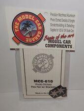 Model Car Garage 1:25/1:24 Photo-Etched Flex Fan with Brackets #MCG-610 NIP