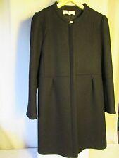 manteau Athé Vanessa Bruno laine noir taille 40